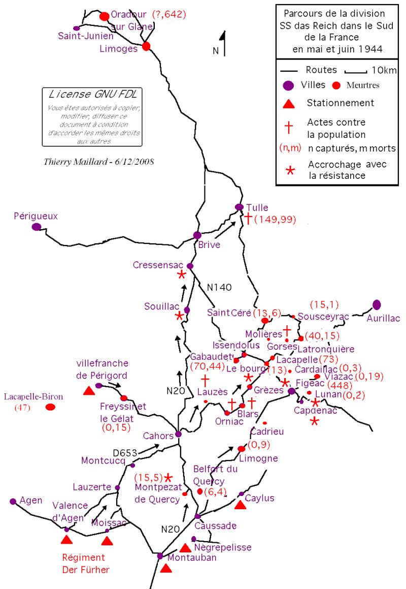 Le massacre de Tulle – 9 juin 1944 Carte_10