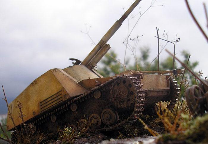 Nashorn - Riedwihr France 1944 - by Giuseppe Randazzo Coldiv21