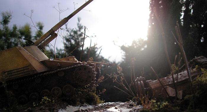 Nashorn - Riedwihr France 1944 - by Giuseppe Randazzo Coldiv22
