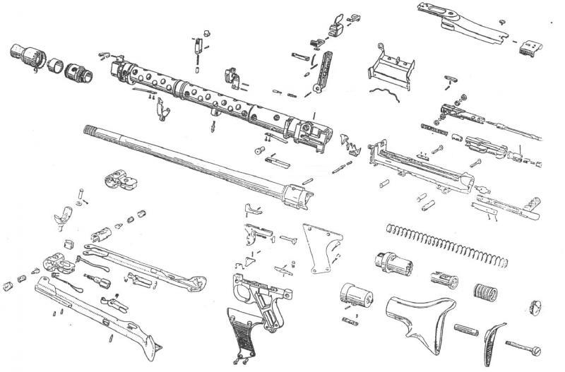 Maschinengewehr 34 - MG34 Coupem10