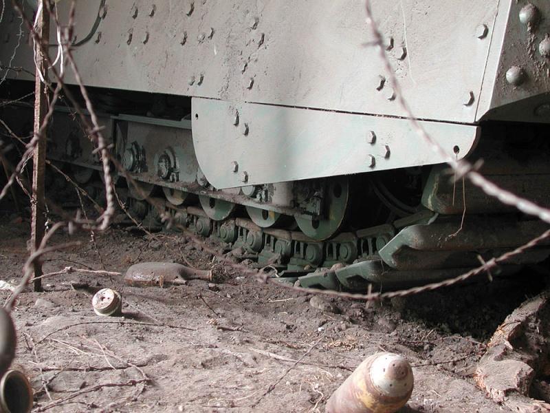 WW1 - A7V  - Munster - Panzer Museum Dscn1313