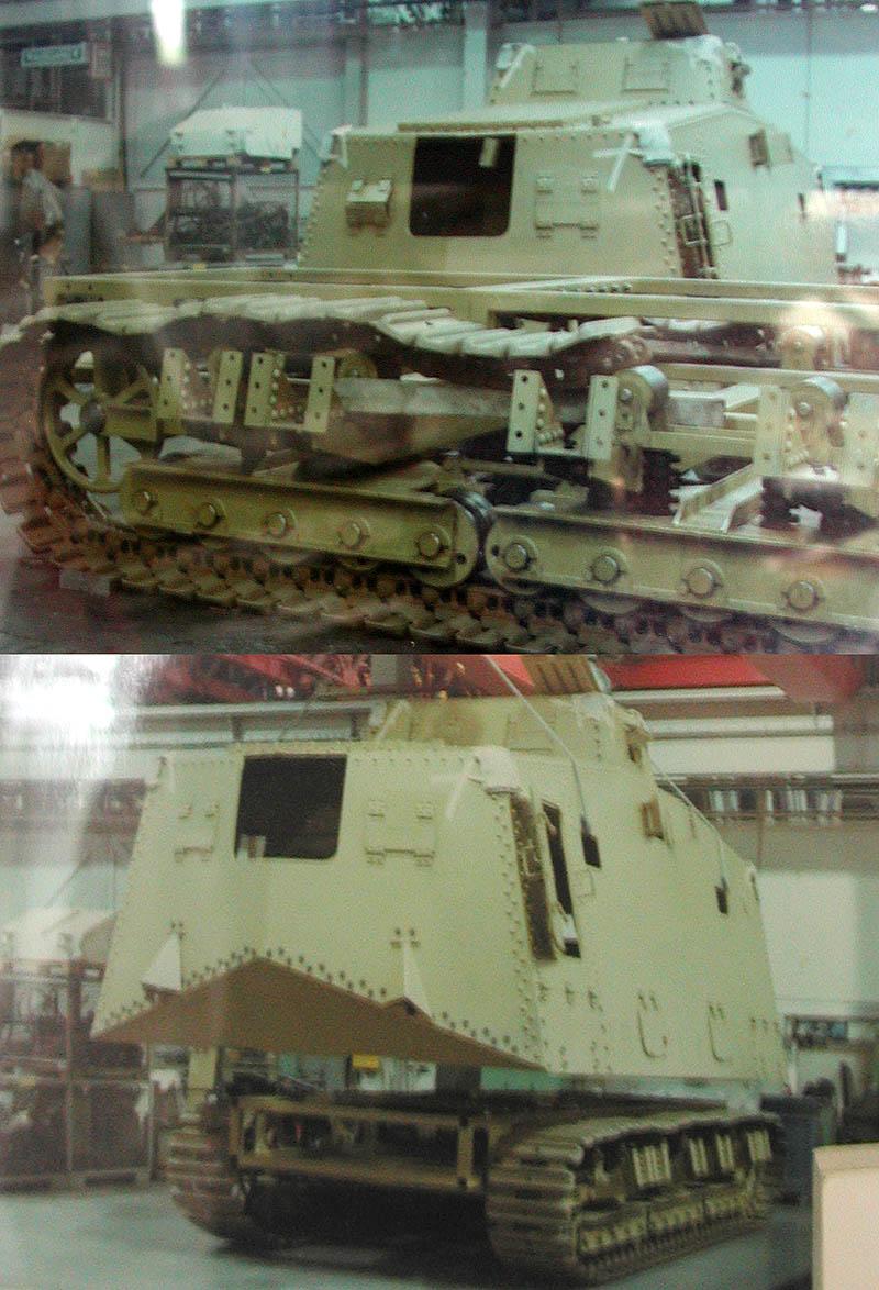 WW1 - A7V  - Munster - Panzer Museum Dscn1314