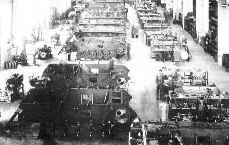 La Production des Panzer Fabric10