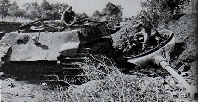Panzer Wreck - Normandie 1944 Falais10