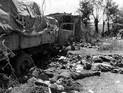 Panzer Wreck - Normandie 1944 Falais11