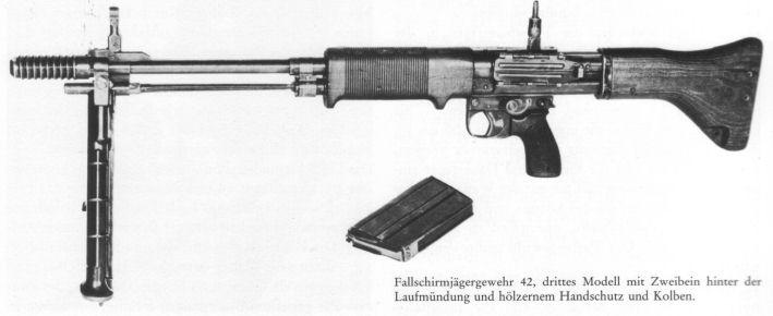 Fallschirmgewehr 42 - FG42 Fg-4210