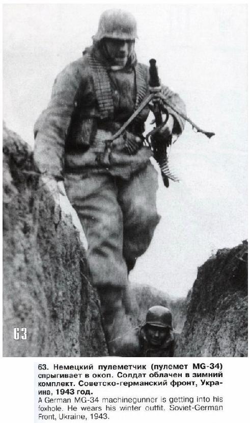 Maschinengewehr 34 - MG34 Frontl12