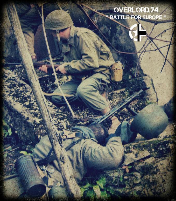 """OVERLORD.74 - Team """"11 eme PzDiv"""" 1944/45 Gf346910"""