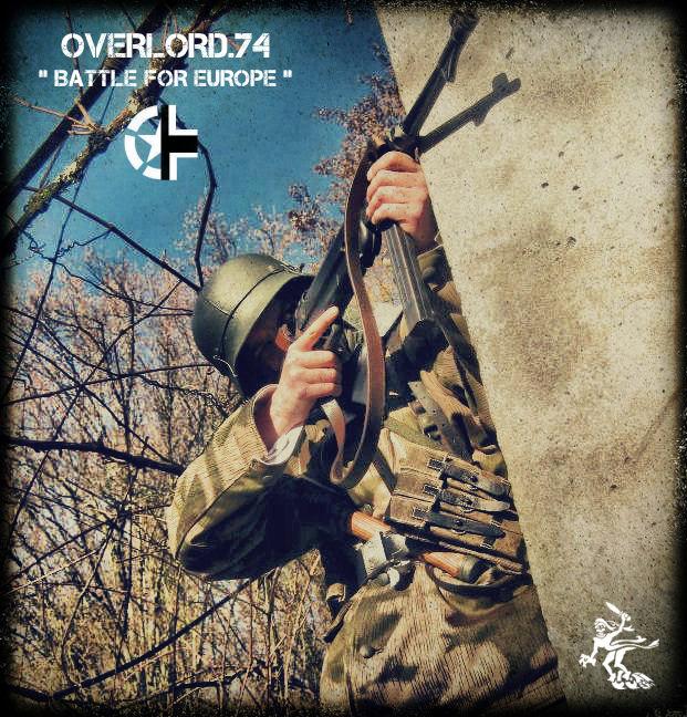 "OVERLORD.74 - Team ""11 eme PzDiv"" 1944/45 Gh956010"