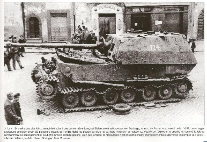 Panzerjäger Tiger Elefant/Ferdinant H5210