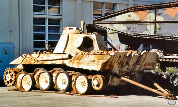 Panther ausf A - mourmelon - France Handle10