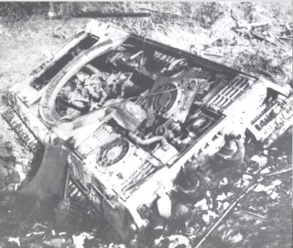 Panzer Wreck - Normandie 1944 Hans2510