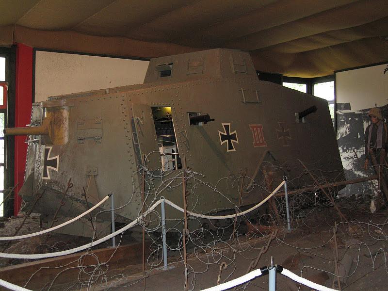 WW1 - A7V  - Munster - Panzer Museum Img_1112