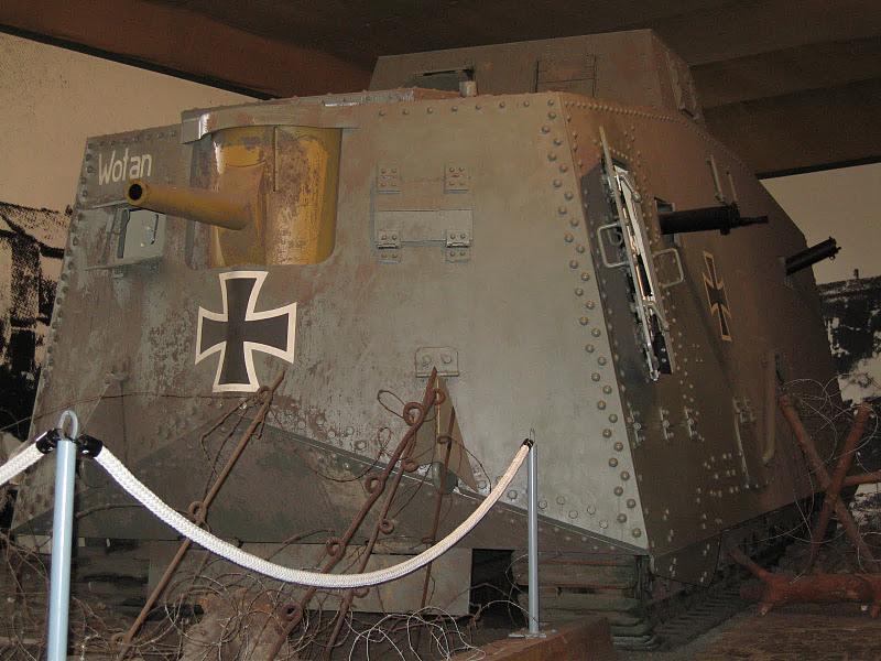 WW1 - A7V  - Munster - Panzer Museum Img_1113