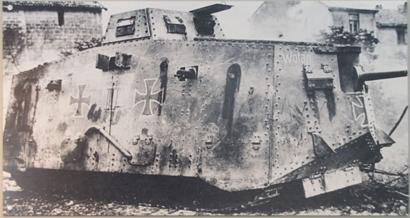 WW1 - A7V  - Munster - Panzer Museum Img_5310