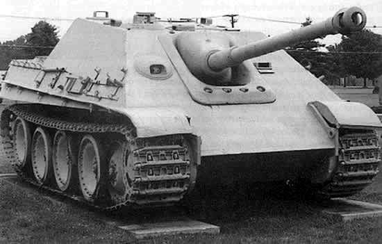 Jagdpanther Aberdeen Proving Grounds - USA Jagdpa10