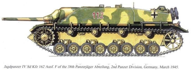 Camouflages, numerotation et marquages des Panzer Jagdpa45
