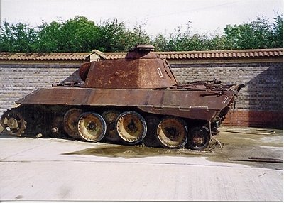 Panzer Wreck in Color !!! Kevins10
