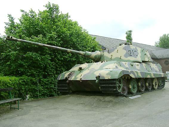 King Tiger - La Gleise - Belgique  Kingti16