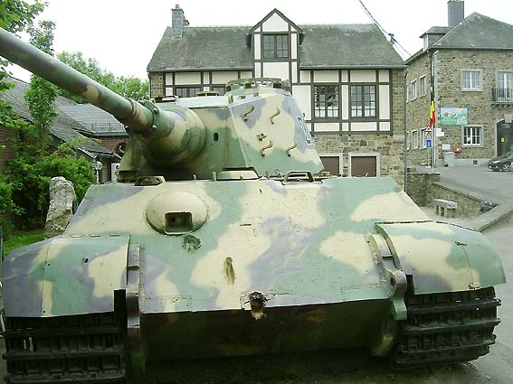 King Tiger - La Gleise - Belgique  Kingti17