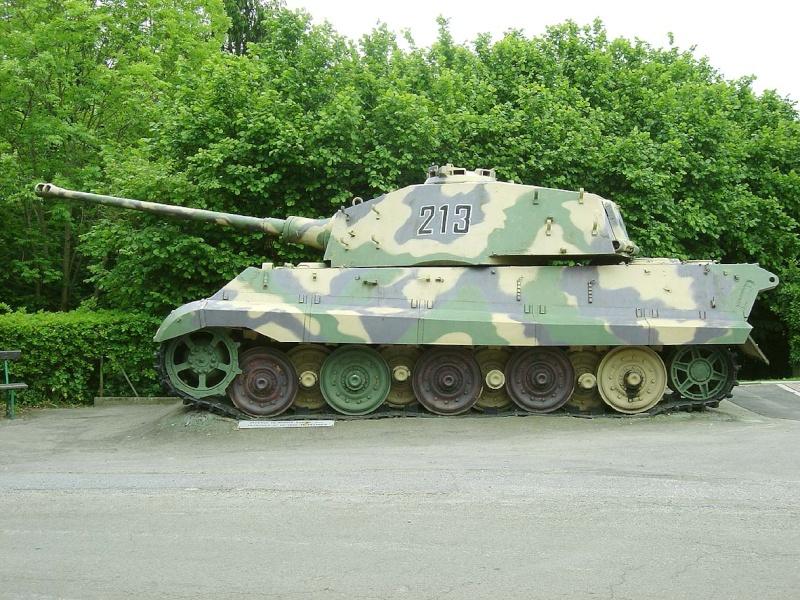 King Tiger - La Gleise - Belgique  Kingti23