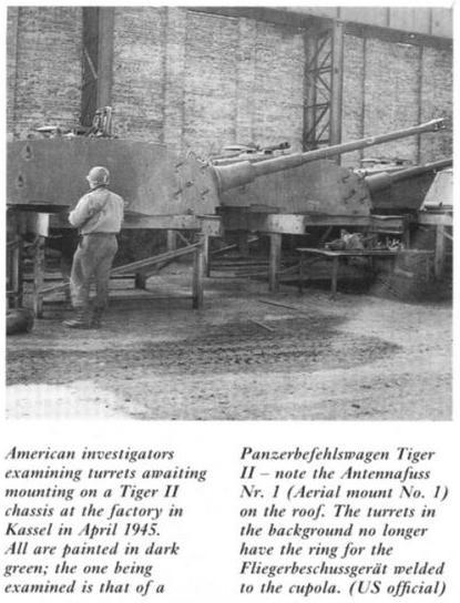 La Production des Panzer Kingti25