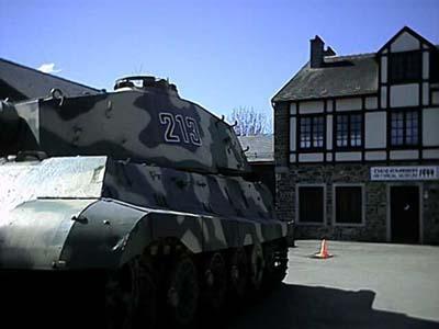 King Tiger - La Gleise - Belgique  Left-110