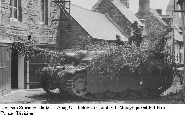 116 Panzer Division Lonlay10