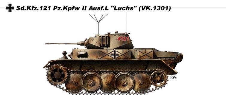 """Panzer II L """"Luchs"""" - Lynx  Luchs11"""