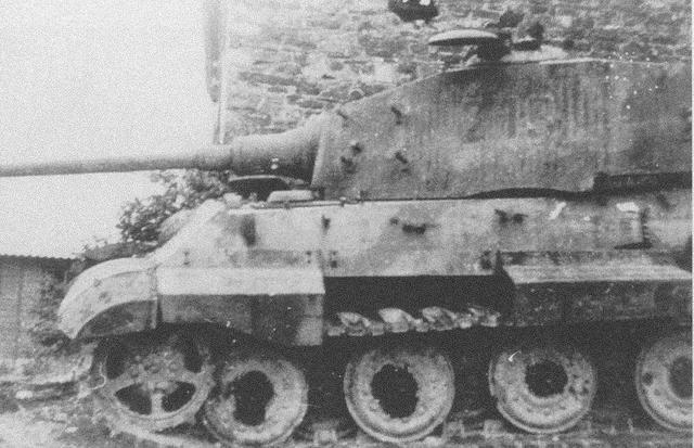 King Tiger - La Gleise - Belgique  Mafkb610