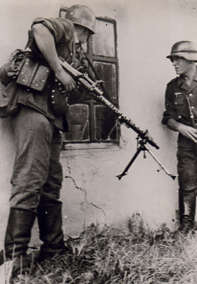 Maschinengewehr 34 - MG34 Mg3410