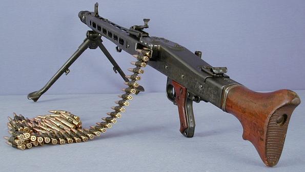 Maschinengewehr 42 - MG42 Mg4210