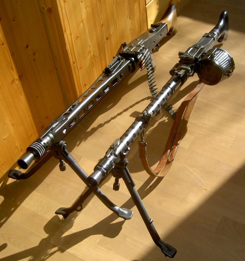Maschinengewehr 34 - MG34 Mgpaar10