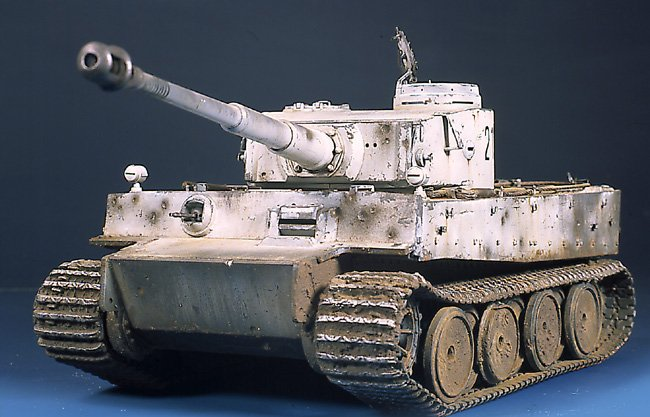 Tiger I Ausf E Early Version - by Miguel Jimenez Migtig10