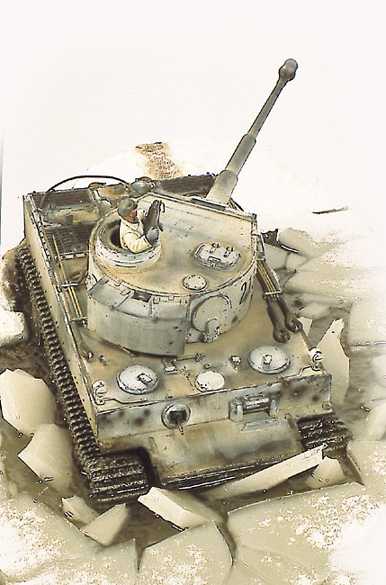 Tiger I Ausf E Early Version - by Miguel Jimenez Migtig11