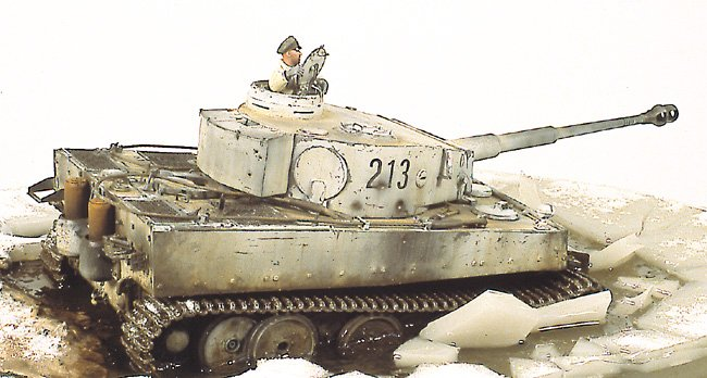 Tiger I Ausf E Early Version - by Miguel Jimenez Migtig12
