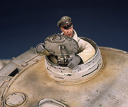 Tiger I Ausf E Early Version - by Miguel Jimenez Migtig13