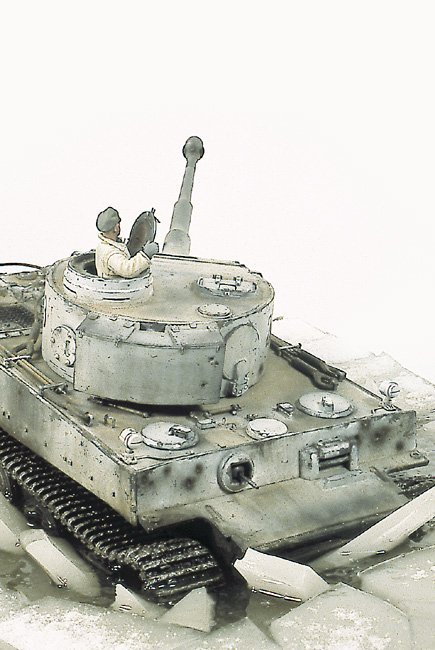 Tiger I Ausf E Early Version - by Miguel Jimenez Migtig14