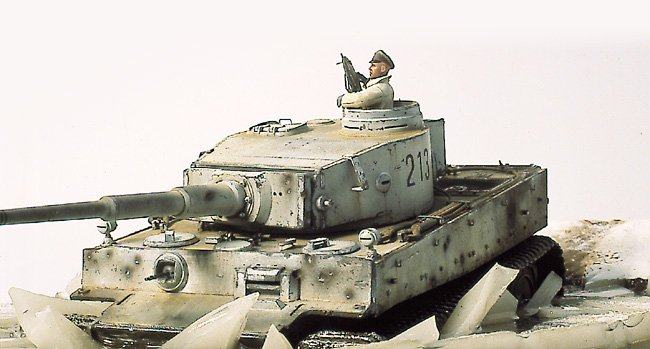 Tiger I Ausf E Early Version - by Miguel Jimenez Migtig15