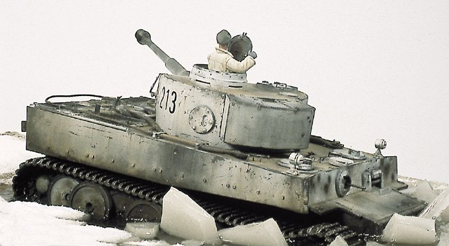 Tiger I Ausf E Early Version - by Miguel Jimenez Migtig16