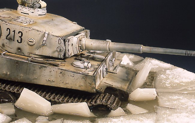 Tiger I Ausf E Early Version - by Miguel Jimenez Migtig18