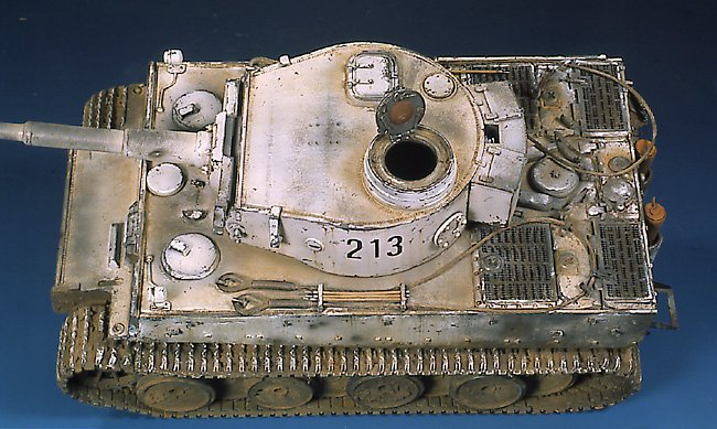 Tiger I Ausf E Early Version - by Miguel Jimenez Migtig19