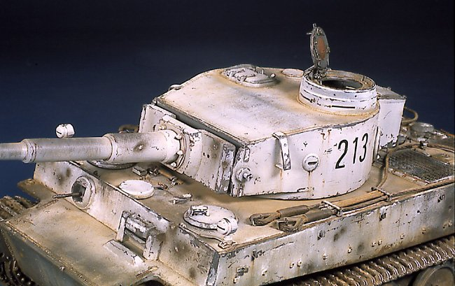 Tiger I Ausf E Early Version - by Miguel Jimenez Migtig20