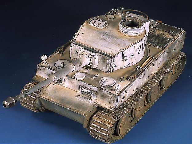 Tiger I Ausf E Early Version - by Miguel Jimenez Migtig21