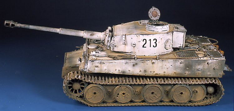 Tiger I Ausf E Early Version - by Miguel Jimenez Migtig22