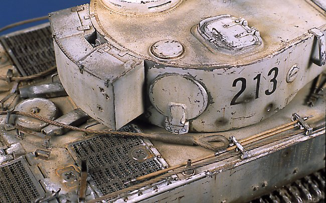 Tiger I Ausf E Early Version - by Miguel Jimenez Migtig23