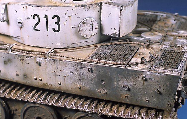 Tiger I Ausf E Early Version - by Miguel Jimenez Migtig24
