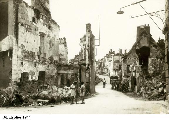 Mouleydier - 21 juin 1944 - Kampfgruppe WILDE Mouley11