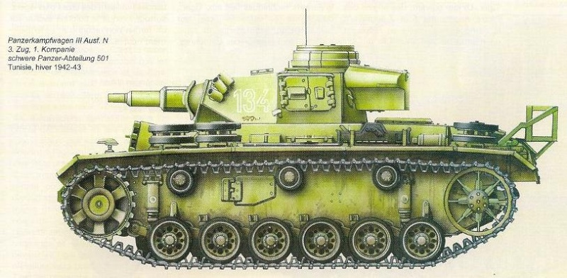 Panzerkampfwagen - Panzer III N2710