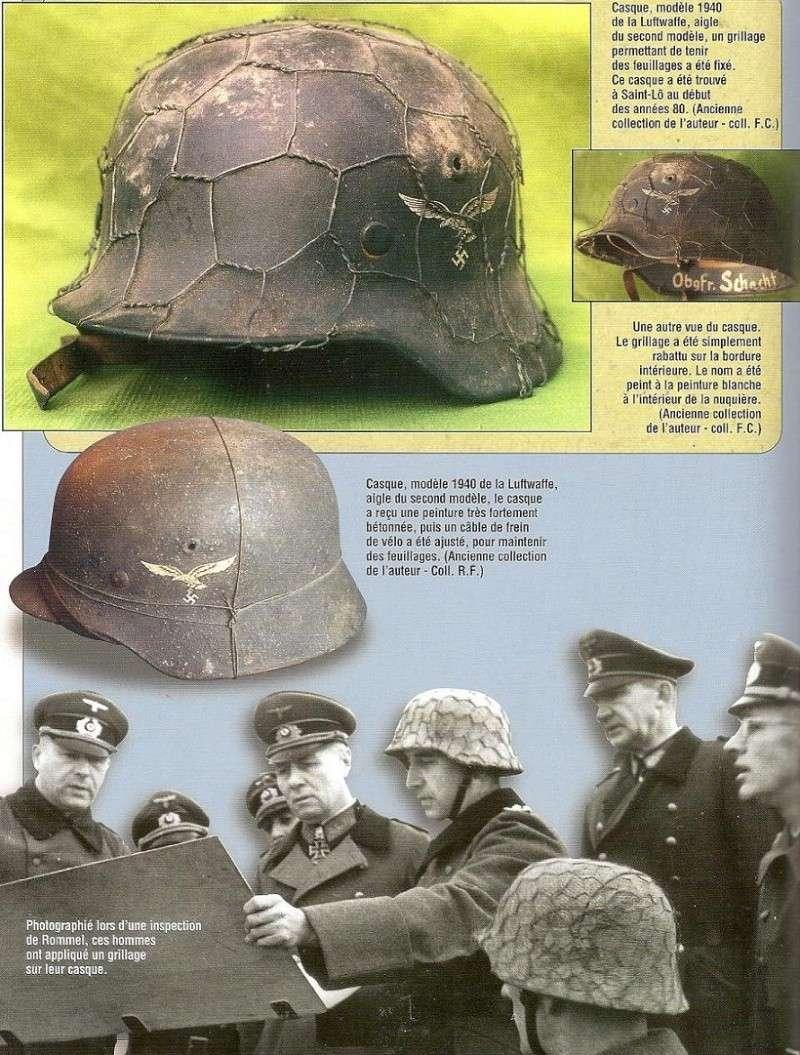 HEER - les Casques - camouflage et accessoires Nn00910